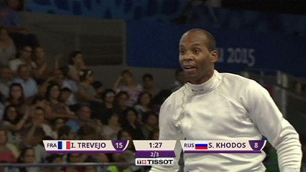 Bakú 2015: el esgrimista Ivan Trevejo gana la final de espada a sus 43 años