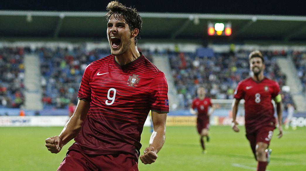 Euro2015 sub-21: Portugal a caminho do Rio