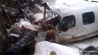 Mother and baby survive plane crash and five days in the jungle