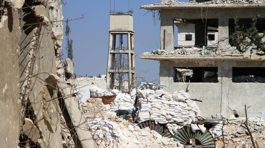 """Contra-ataque do """"Estado Islâmico"""" no norte da Síria."""