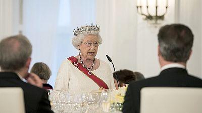 La Reine Elisabeth II en défendresse de l'Union européenne à Berlin