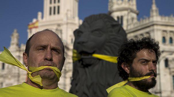 La loi du baillon révulse l'Espagne