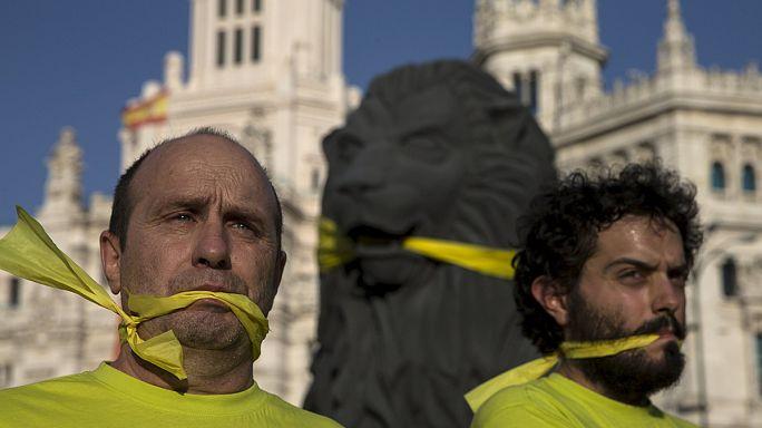 İspanya'da güvenlik adı altında baskıcı yasalar