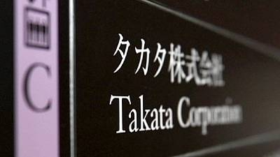 Takata chief apologises for airbags fatal flaw