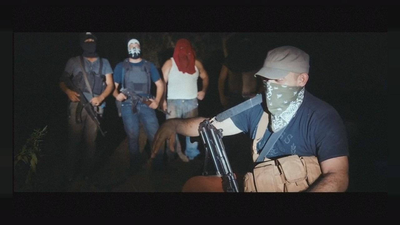 "When governments don't help, vigilantes fight the drugs war in ""Cartel Land"""