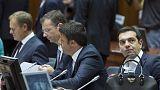 Falta de acordo sobre Grécia ensombra cimeira europeia