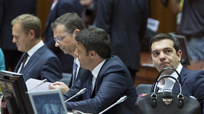 الوضع المالي اليوناني و شؤون الهجرة غير الشرعية على جدول اعمال القمة الاوروبية