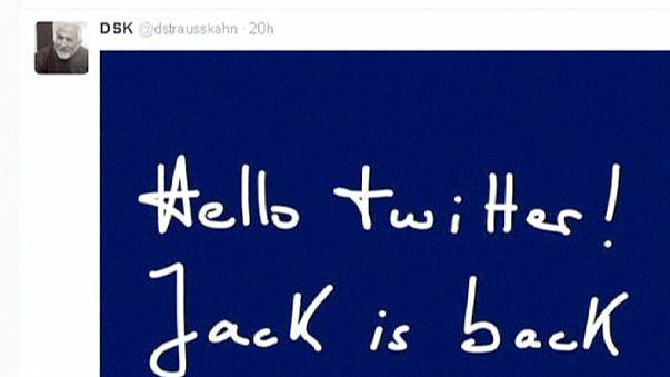 DSK a Twitteren újra aktív, a franciák nem akarják, hogy a politikában is az legyen