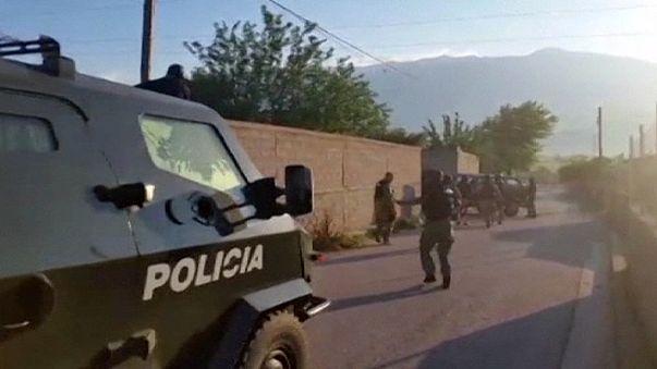Albânia: Operação policial em Lazarat