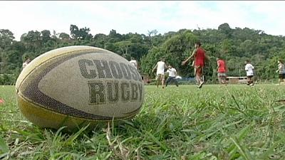 Projekt Umrio - Rugby fördert den Teamgeist