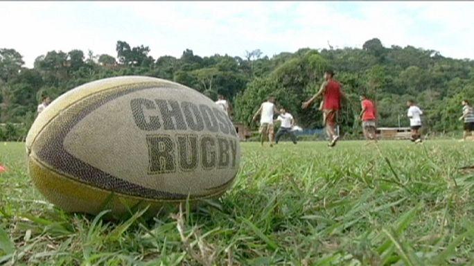UmRio Projesi Brezilyalı gençlere rugby öğretiyor