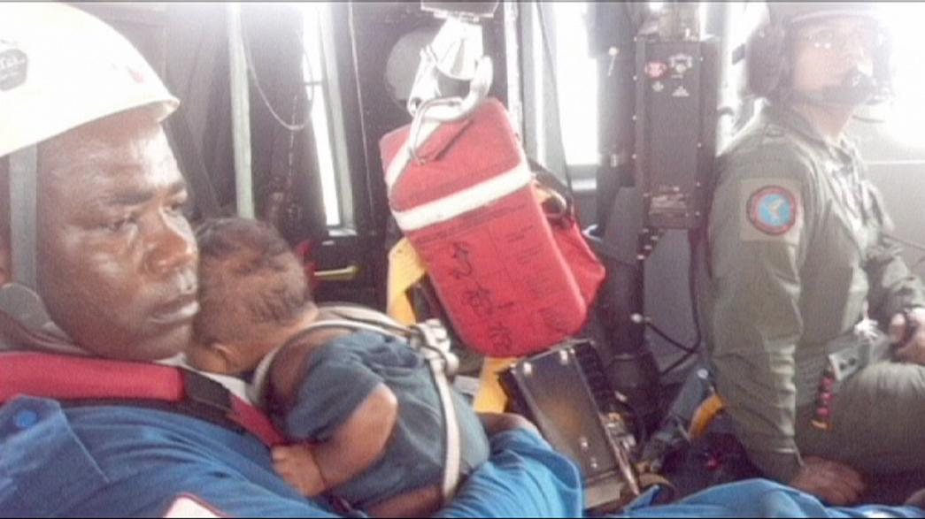 Mother and baby found alive five days after plane crashes in Colombia