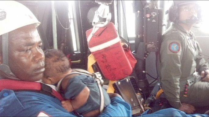 العثور على أم وطفلها في ادغال كولومبيا
