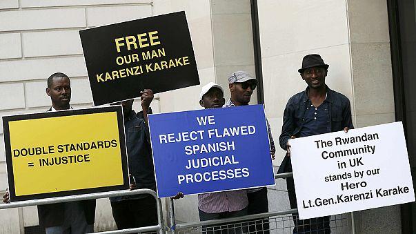 Liberté sous caution accordée à Londres au chef des services secrets rwandais