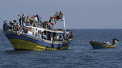 """""""Frota humanitária"""" tenta romper bloqueio a Gaza pela terceira vez"""