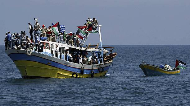 Flotilla prepares to set off on attempt to break Israel's blockade of Gaza