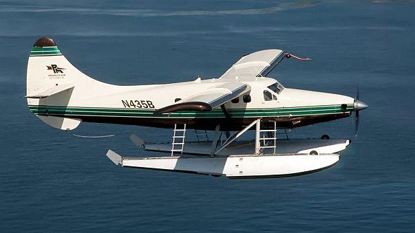 Se estrella una avioneta en Alaska con nueve personas a bordo