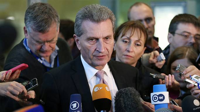 EU's Oettinger gives Athens five days to avoid a 'Grexit'