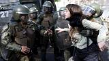 Chile: Violent clashes between police and protesters