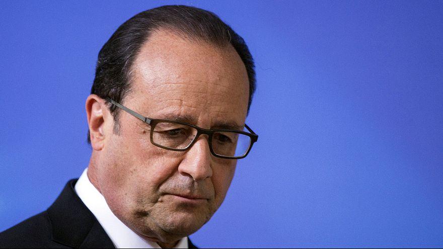 الرئيس الفرنسي فرانسوا هولاند يتحدث عن الهجوم على مصنع الغاز