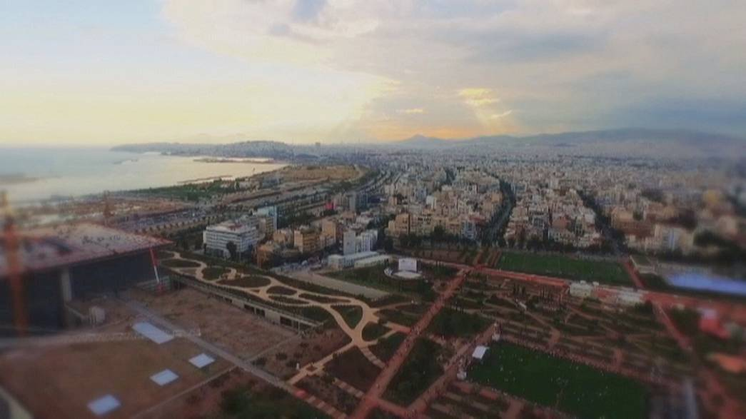 """Le nouveau Centre culturel d'Athènes, un """"bol d'air"""" dans l'étouffoir grec"""