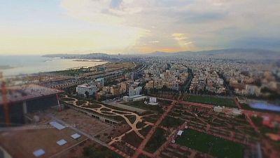 Inaugurada la primera parte del futuro Centro Cultural Stavros Niarchos en Atenas