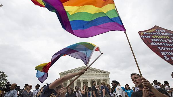 US Supreme Court rules gay marriage a constitutional right