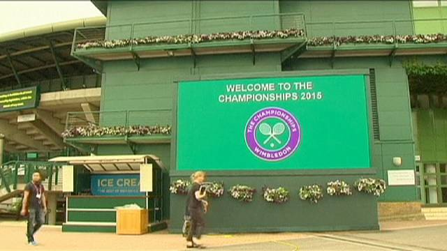 Defending champ Djokovic to face Kohlschreiber in Wimbledon opener