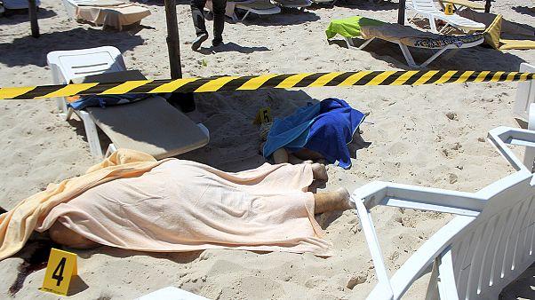 Fast vierzig Tote bei Anschlag auf tunesisches Hotel