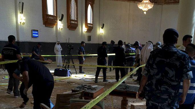 Kuveyt'te cuma namazı kana bulandı