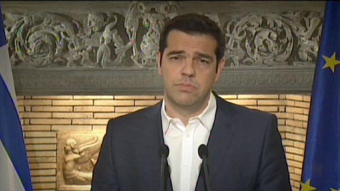 Alexis Tsipras annonce un référendum sur le plan d'aide à la Grèce
