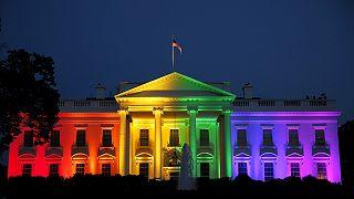 همجنسگرایان آمریکا قانونی شدن ازدواجشان در تمامی ایالت ها، را جشن گرفتند