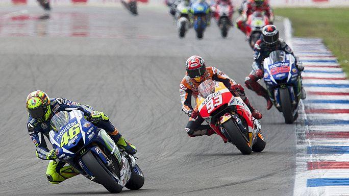 Valentino Rossi brille à Assen en Moto GP