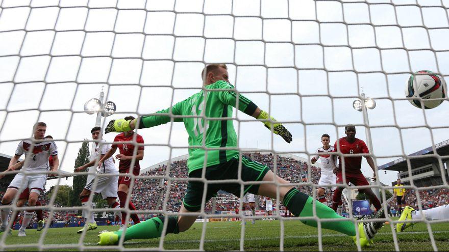 Euro sub21: Portugal esmaga (5-0) Alemanha e joga final com Suécia
