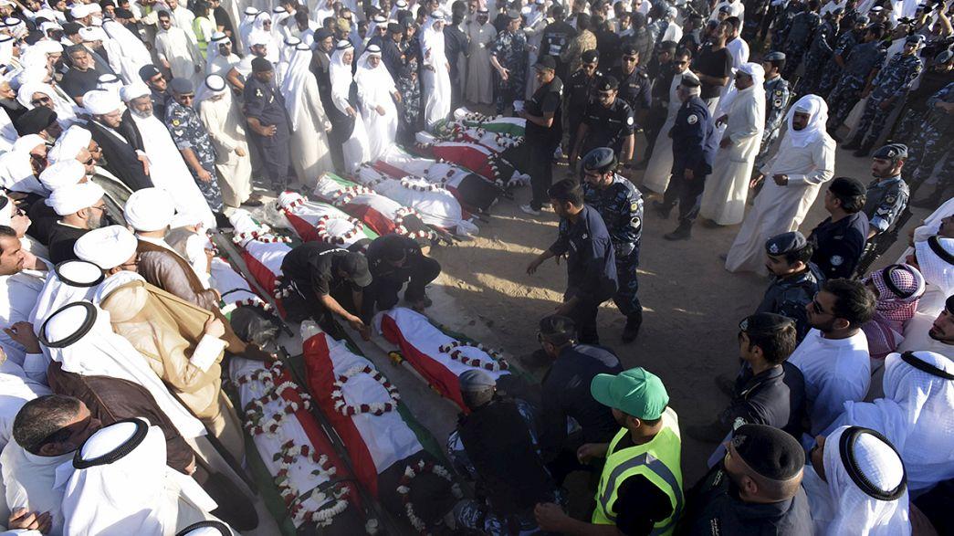 Detenido en Kuwait un sospechoso del atentado que mató a 27 personas