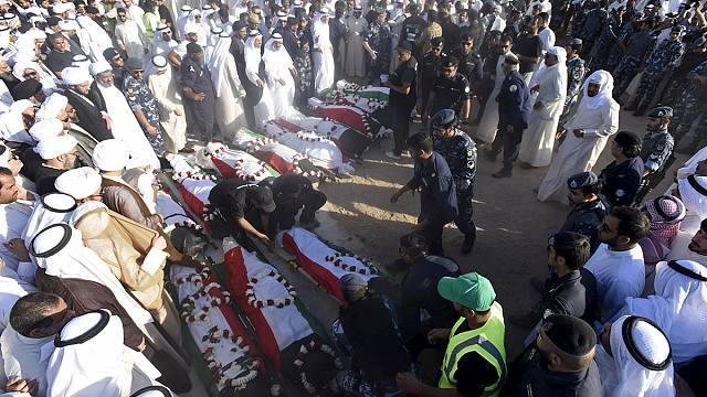 Kuveyt'teki cami saldırısıyla ilgil bir şüpheli gözaltında
