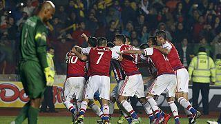 Brezilya elendi, Copa America'da Paraguay yarı finalde