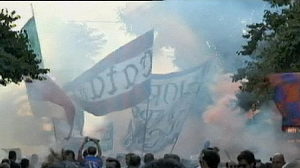Catania supporters protest match-fixing