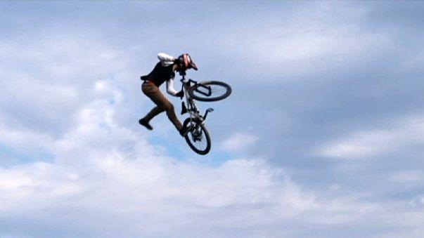 Brett Rheeder gana el oro en el Munich Mash de BMX