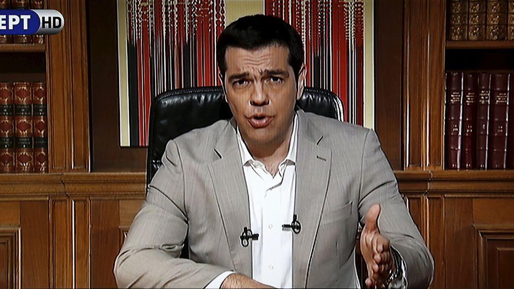 Tsipras confirma que los bancos no abrirán el lunes e impone el control de capitales
