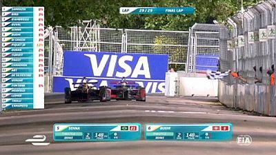 Nelson Piquet wins first Formula E championship
