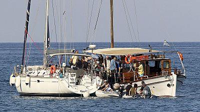 """Marinha israelita interceta """"Frota da Liberdade"""""""