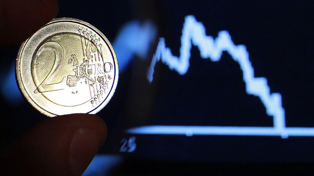 تراجع تعاملات البورصة العالمية بسبب أزمة ديون اليونان