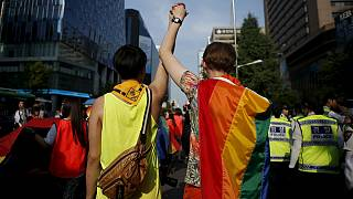 South Korea and Philippines celebrate gay pride