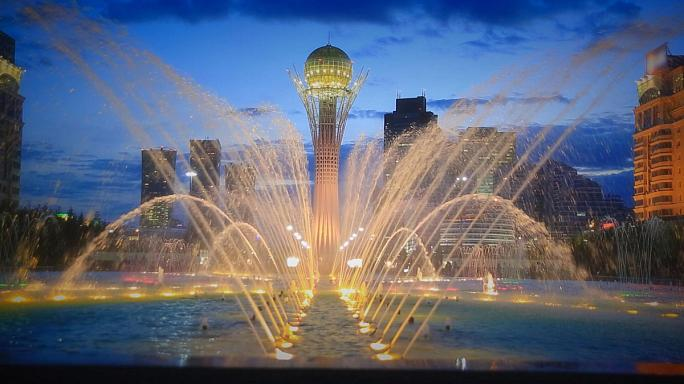 Postcards from Kazakhstan: Astana's emblematic tree of life