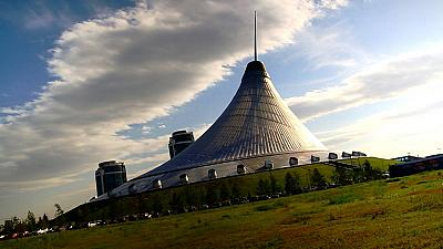 Astana: a futuristic city of many different styles