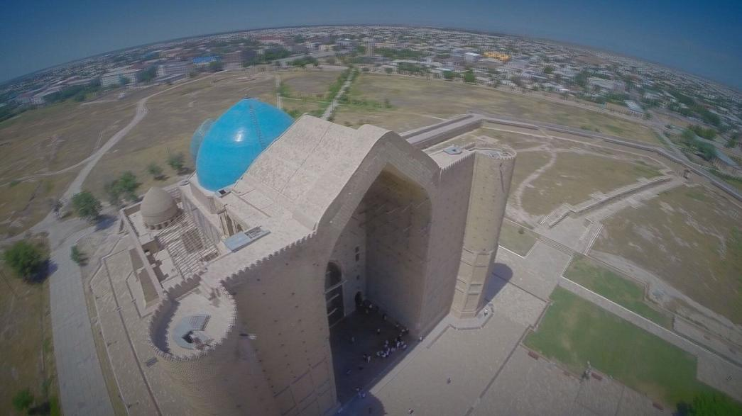 Das Mausoleum Khoja Ahmed Yasawi - Türkistan, Kasachstan