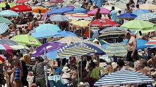 نخستین موج گرمای تابستان به اروپا رسید