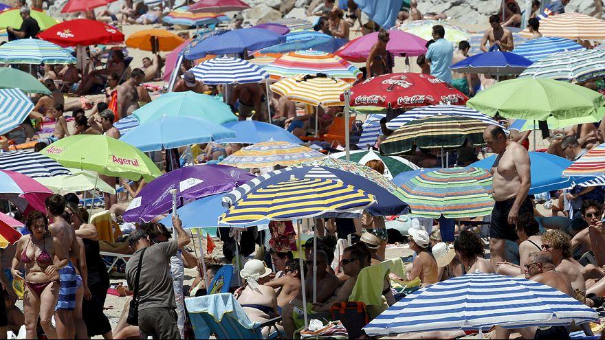 Европу накрыла первая жаркая волна