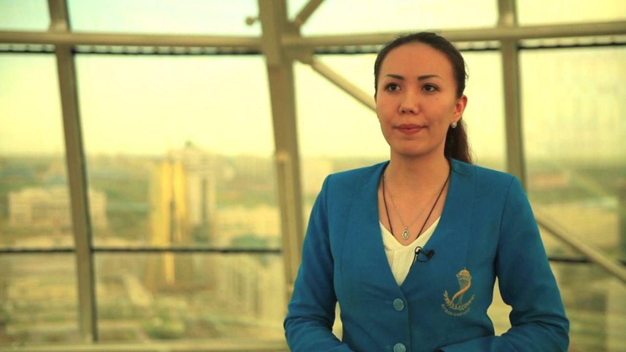 Bonus interview: Saule Suyundukova, Bayterek Tower